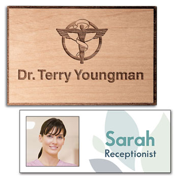 Chiropractic Name Tags