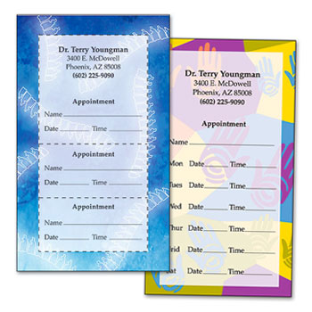 Shop Chiropractic Multi-Appointment Cards