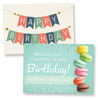 Shop Chiropractic Birthday Cards