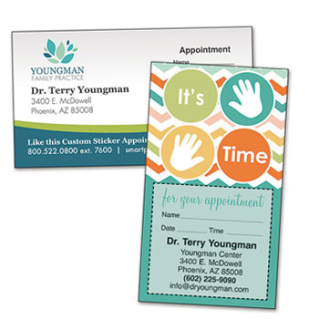 Shop Chiropractic Appointment Cards
