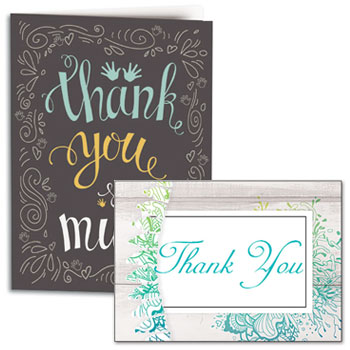 Shop Chiropractic Thank You Cards