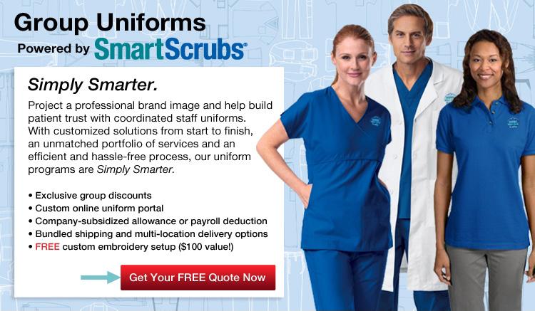 SmartScrubs Group Uniform & Scrubs Program | SmartPractice Dental