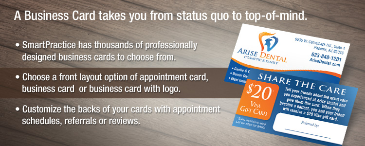 Most popular dental business cards from smartpractice most popular dental business cards from smartpractice colourmoves