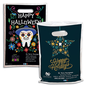 Dental Halloween and Thanksgiving Supply Bags