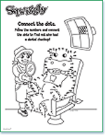 free kid s dental coloring sheets activities and charts