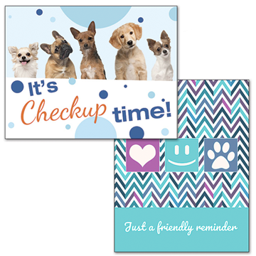 Veterinary Reminder Cards