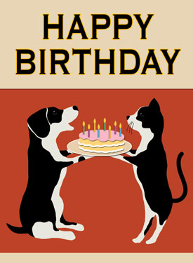 Veterinary Themed Birthday Cards